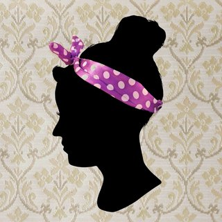 [T - C} Vintage Girls retro hair band hot summer