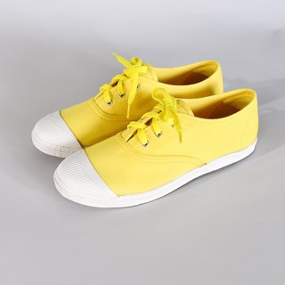 Four fold clear - some spots on the upper and the sole - casual shoes KARA fruit yellow