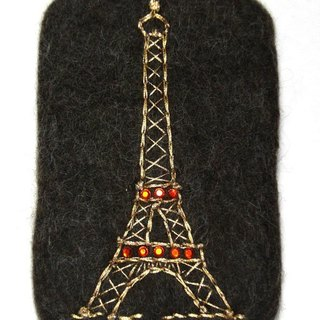 Sheep blankets the iPhone Case - Eiffel Tower