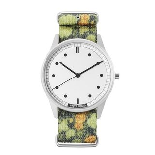 HYPERGRAND - 01 Basic Collection - GARDEN SKIRMISH GARDEN Watch (Silver)