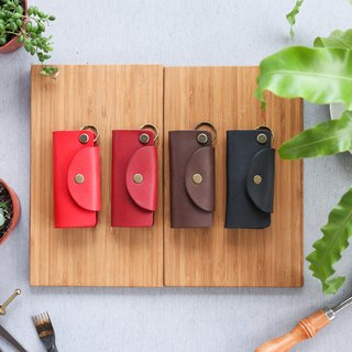 Shekinah Handmade Leather - Textured Key Case