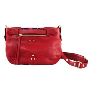 PAZEAL Hunting cluth w / shoulder - mini Fashion Leather Shoulder packet