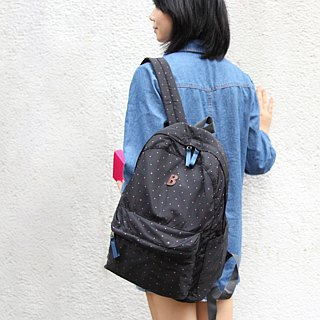 Mildred Backpack(A4 OK)- Black _100416-00