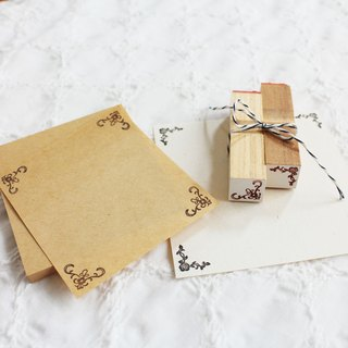 [Resale] Rose and Lily of the corner Petit stamp set of two
