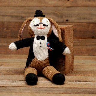 American Blabla Kids | Cotton Knitting Doll (Small) - Alice Beard Magician B21052630