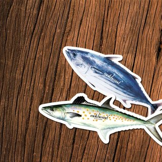 Matchwood Design Matchwood Air Freshener Fish Fragrance Bluefish + Greenfish two purchase discount