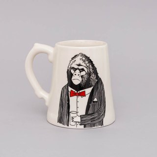 Mr Ape Beer Mug | Jimbobart