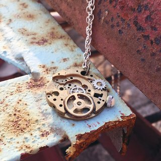 Frozen Time | Watches plywood necklace