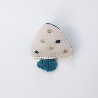 Jellyfish brooch 021 No. [MTO]