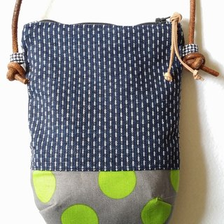 Homespun Fabric Phone Bag