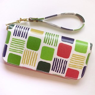 Palette. Waterproof long clip / wallet / purse / purse