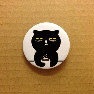 Badkitty Little Button - I Hate Mondays!