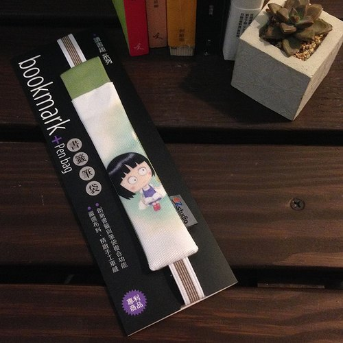 Bookmark Pencil (A5 dual pen) - Jingjing and Blossom
