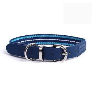 Wes [W & amp; S] color rope made Collars - Size M / blue