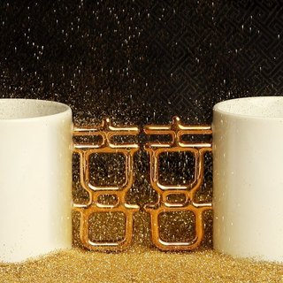 【CiCHi】Golden Married Mug