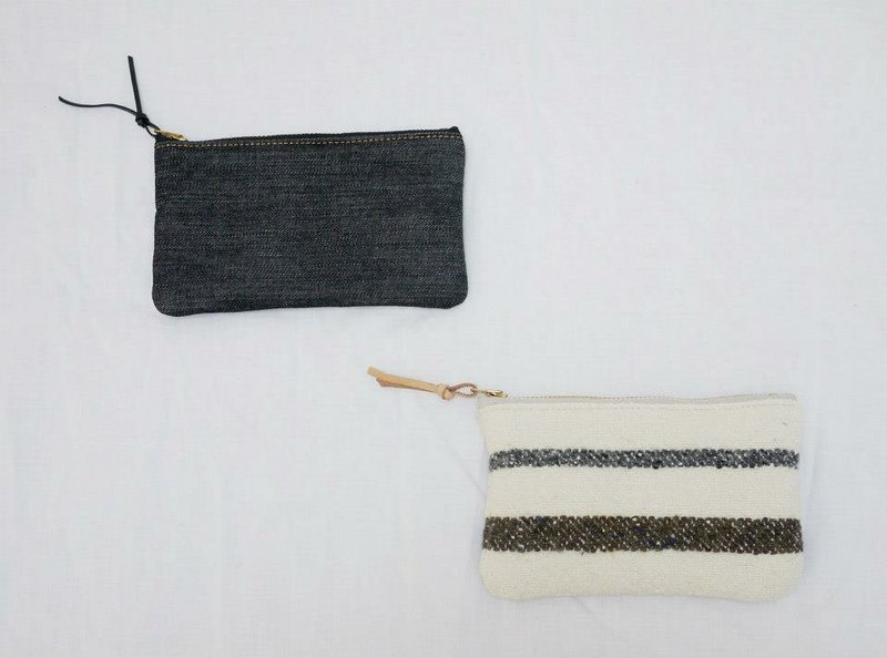 EVERYTHING IN BETWEEN 拉鍊小物包 — 長方小