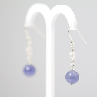 [] ColorDay dream Tanzanite <Tanzanite> Silver Earrings