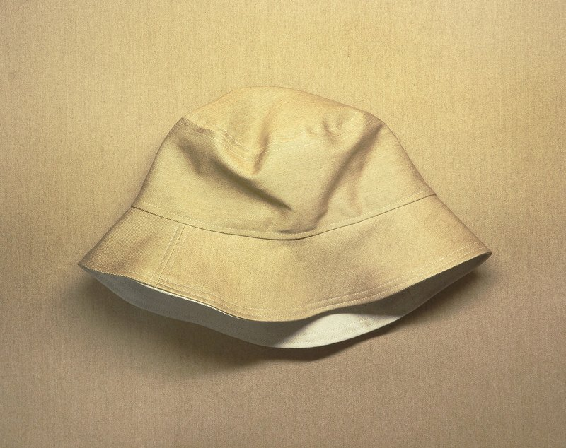 Purely pure fisherman's hat | dark kraft paper