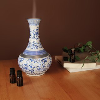 Good co-Yuan blue and white fragrance bottle
