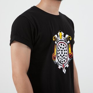 VTGO black cotton tshirt