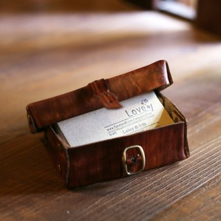 City Journey - Small Object Storage Business Card Leather Luggage