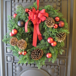 A01503800 hand-made Christmas wreaths Nuobei Song