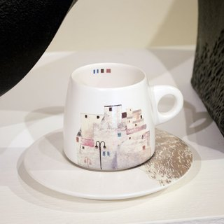 Li Ruomei / old dream - painting stone coffee cup