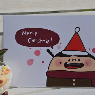 Christmas postcard - Merry Christmas ~