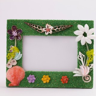 Hand you drunk precious picture frame - green romance
