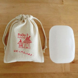 [Flowers] PoDo wave soap bag - red (without soap)