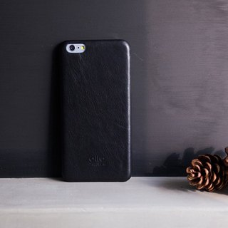 Alto iPhone 6S Plus Genuine Leather Case Back Original - Raven Black