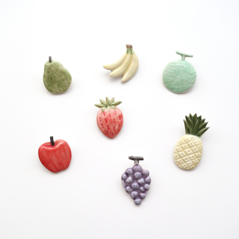 Fruit brooch