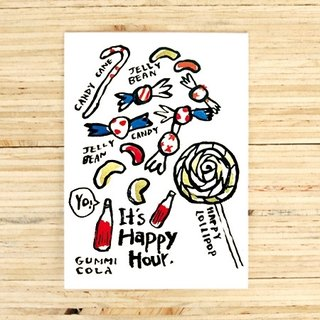 It's happy hour Greeting Card