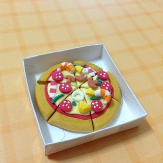 PIZZA delicious earrings set (can change the ear clip-on) ((over 600 were sent mysterious little gift))
