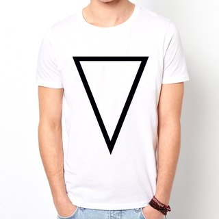 Inverted Prism A T-shirt -2 color triangle geometric fashion design cheap own brand