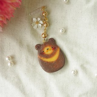 ☆ Sweet Dream ☆ bears caramel biscuit / phone dust plug