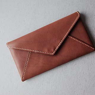 Shekinah Handmade Leather - Square Button Card Case