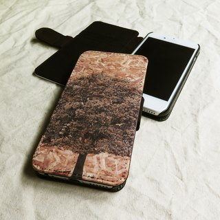 Tree and Plywood, - Designer,iPhone Wallet,Pattern iPhone wallet