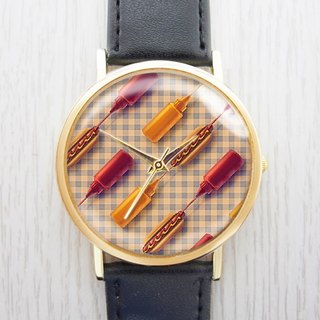 New York Hot Dogs - Women's Watches/Men's Watches/Neutral Watches/Accessories [Special U Design]