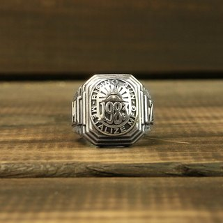 """RISING SUN"" Ring glory rings 925 silver version"