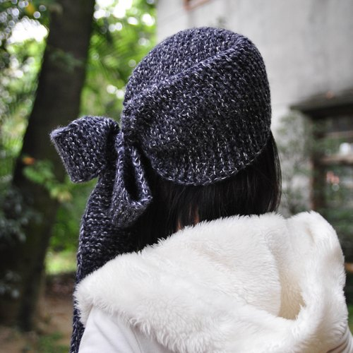 Multifunction wool scarves hat