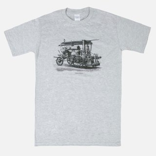 T-Shirt  Vintage Firefighting Truck