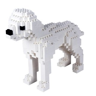 Master Builder - white dog (PUPPY)