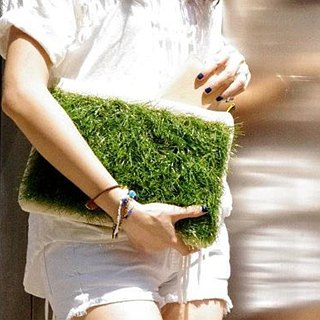 GRASSY Small Clutch (iPad mini case)