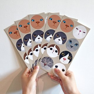 Tequila original design cat person stickers star stickers -Meow