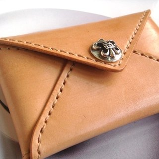 Sew primary tanned envelope card holder (General deduction)