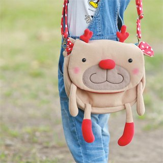 Balloon-big side backpack (麋鹿桑)