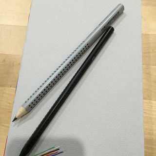Gain Giogio Handbook + 250-year-old FaBer-Castell Non-toxic Pencil