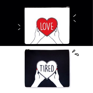 Love & Tired Clutch Bag 手拿包