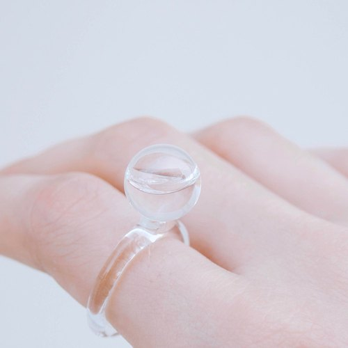 Tiny droplet ring